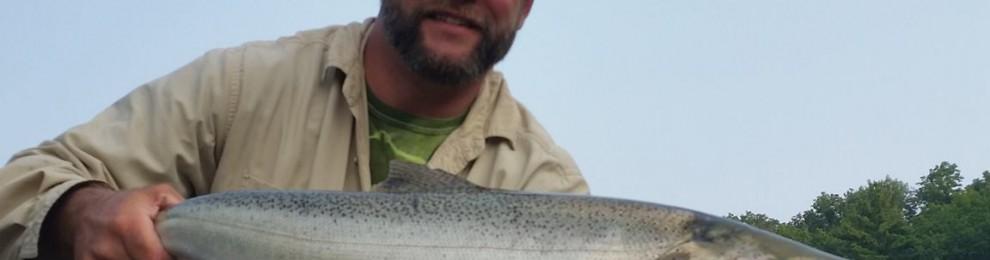 Big Manistee River Fishing Report 8/6/2014