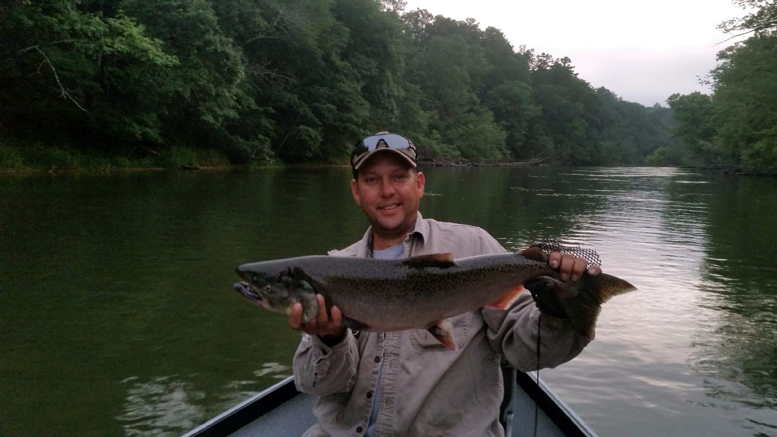 All tackle fisherman fishing outfitter wellston for Manistee fishing report