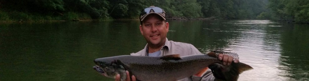 Big Manistee Fishing Report for September 9, 2014